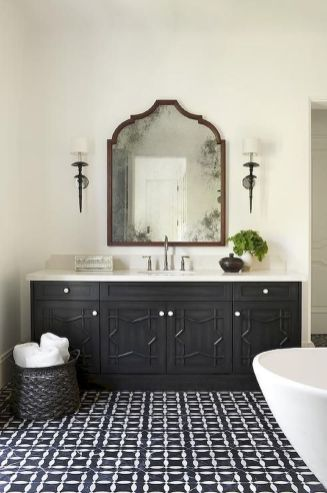 Cool bathroom mirror ideas 44