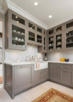 Cozy color kitchen cabinet decor ideas 02