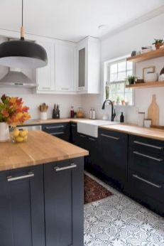 Cozy color kitchen cabinet decor ideas 05