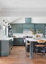 Cozy color kitchen cabinet decor ideas 09