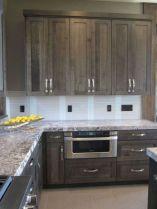 Cozy color kitchen cabinet decor ideas 17
