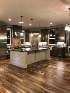 Cozy color kitchen cabinet decor ideas 32