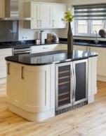 Cozy color kitchen cabinet decor ideas 49