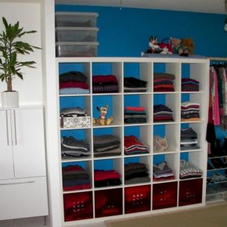 Cute diy bedroom storage design ideas for small spaces 22