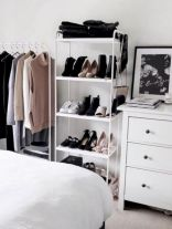 Cute diy bedroom storage design ideas for small spaces 24