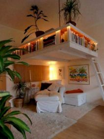 Cute diy bedroom storage design ideas for small spaces 28