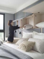 Cute diy bedroom storage design ideas for small spaces 36