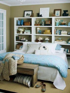Cute diy bedroom storage design ideas for small spaces 39