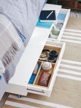 Cute diy bedroom storage design ideas for small spaces 42