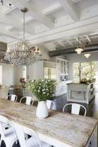 Elegant industrial metal chair designs for dining room 08