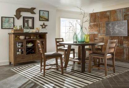Elegant industrial metal chair designs for dining room 13