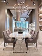 Elegant industrial metal chair designs for dining room 16