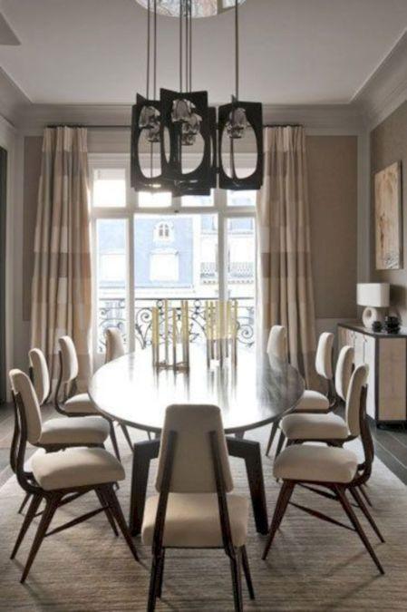 Elegant industrial metal chair designs for dining room 42