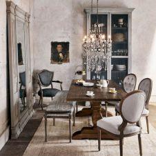 Elegant industrial metal chair designs for dining room 51