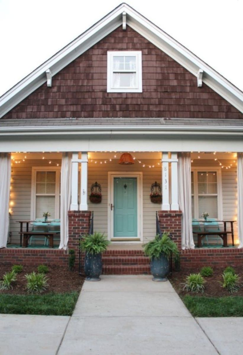 Fantastic front porch decor ideas 08