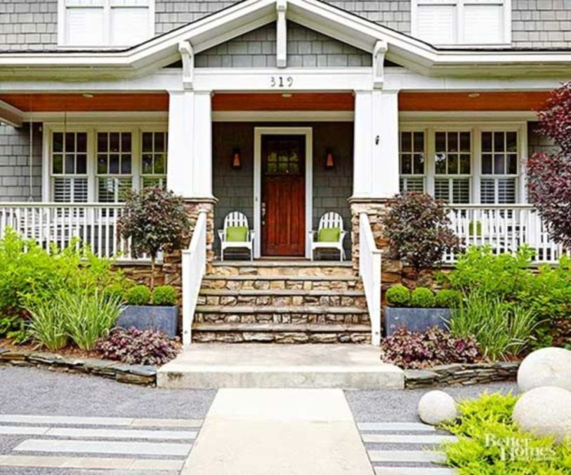 Fantastic front porch decor ideas 19