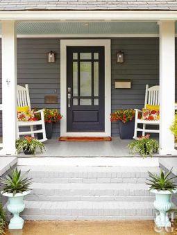 Fantastic front porch decor ideas 29