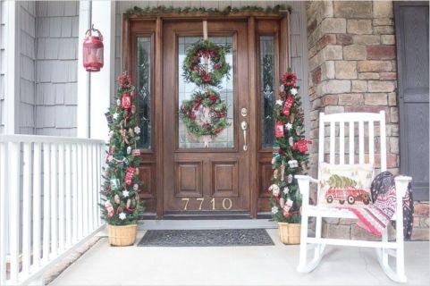 Fantastic front porch decor ideas 30