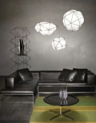 Fascinating colorful glass pendant lamps ideas for your kitchen 13