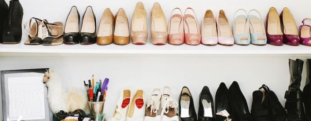 Luxury antique shoes rack design ideas 01