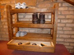 Luxury antique shoes rack design ideas 09