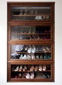 Luxury antique shoes rack design ideas 29