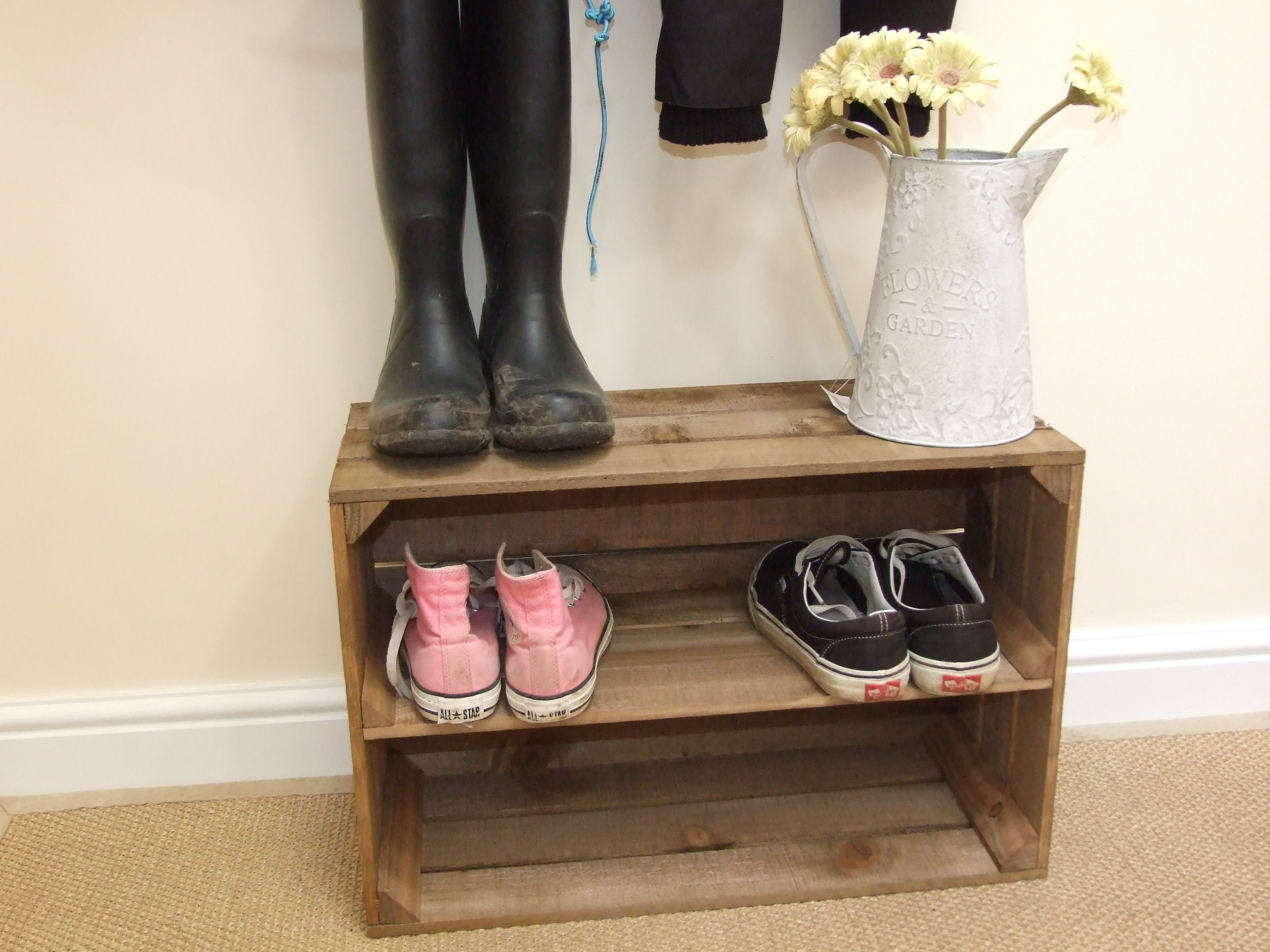 Luxury antique shoes rack design ideas 38