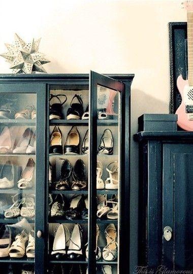 Luxury antique shoes rack design ideas 39