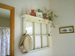 Newest diy vintage window ideas for home interior makeover 10