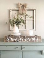 Newest diy vintage window ideas for home interior makeover 29