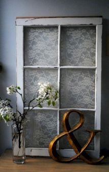 Newest diy vintage window ideas for home interior makeover 38