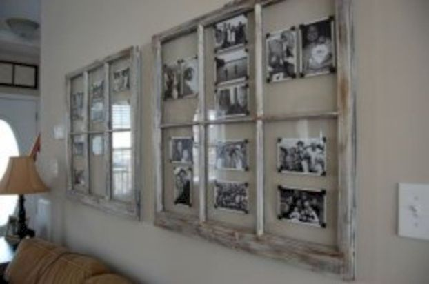 Newest diy vintage window ideas for home interior makeover 39