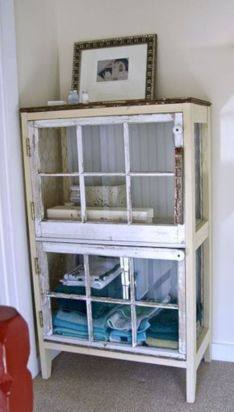 Newest diy vintage window ideas for home interior makeover 40
