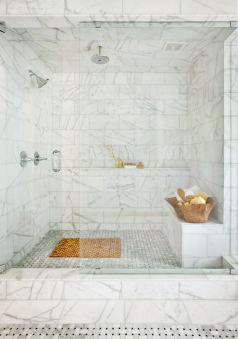 Perfect master bathroom design ideas for small spaces 08