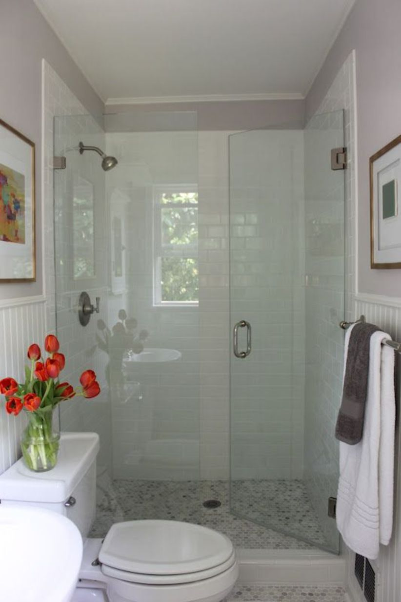 Perfect master bathroom design ideas for small spaces 17
