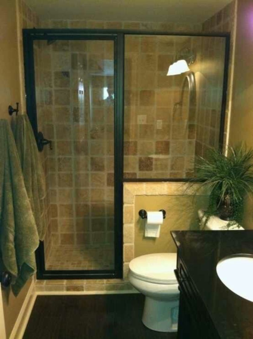 Perfect master bathroom design ideas for small spaces 43