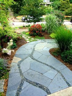 Stunning landscape pathways ideas for your garden 15