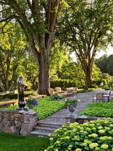 Stunning landscape pathways ideas for your garden 34