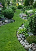 Stunning landscape pathways ideas for your garden 36