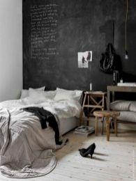 Unique white minimalist master bedroom design ideas 30