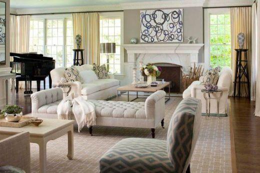Wonderful traditional living room design ideas 14