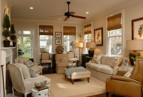 Wonderful traditional living room design ideas 16