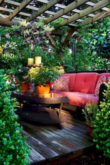 Amazing garden decor ideas 36