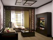 Astonishing partition design ideas for living room 13