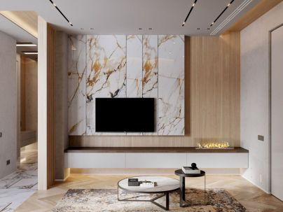 Astonishing partition design ideas for living room 19