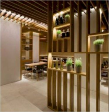 Astonishing partition design ideas for living room 24