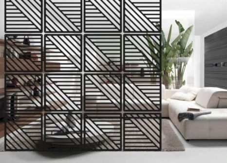 Astonishing partition design ideas for living room 26