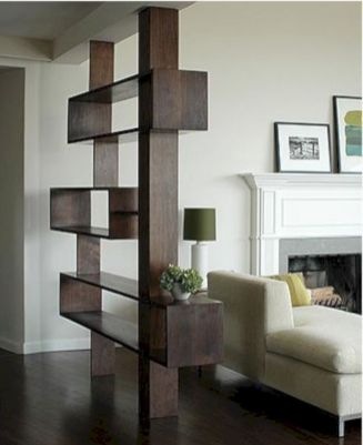 Astonishing partition design ideas for living room 32