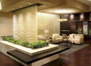 Astonishing partition design ideas for living room 36