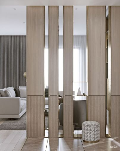 Astonishing partition design ideas for living room 38